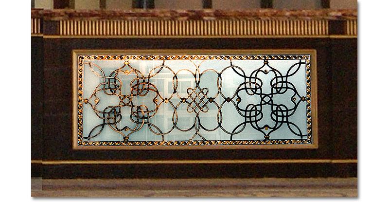 Miriam Ellner Design Verre Eglomis 233